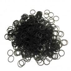 Резинки силиконовые черные