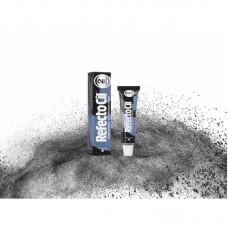 Краска для бровей и ресниц черно-синяя №2